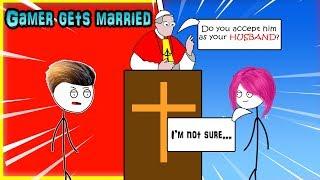 When a gamer got Married