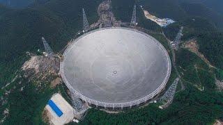 এলিয়েন ধরতে এবার চিন তৈরি করল বিশ্বের সবচেয়ে বড় রেডিও টেলিস্কোপ    Radio Telescope to catch Alien