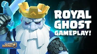 Clash Royale: Introducing Royal Ghost (Gameplay!)