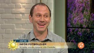 """Jonas Eriksson: """"Jag är bra på att prestera under press"""" - Nyhetsmorgon (TV4)"""