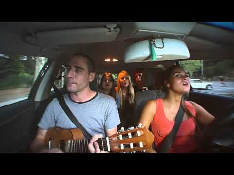 Car Sessions #8 Ray Charles (cover by Alex Serra & The Red-lipped Girls)