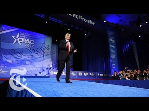 President Donald Trump's Full Speech At CPAC | The New York Times