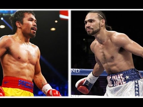 KEITH THURMAN ATTACKS MANNY PACQUIAO LET'S DANCE!!! CLOWNS DANNY GARCIA AGAIN!!