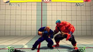Alex Louis Armstrong in SFIV