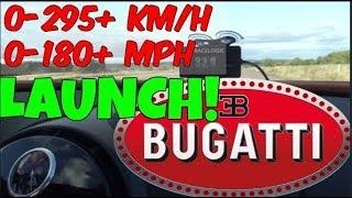 LAUNCH CONTROL Bugatti Veyron Grand Sport Vitesse 0-295 km/h