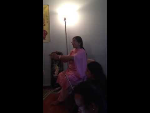 Mom teaching