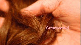 علاج قوي وطبيعي لمشكلة تقصف وخشونة الشعر والحصول على شعر لامع وناعم كالحرير