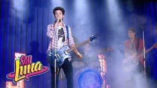 Simón, Nico y Pedro cantan Valiente - Momento Musical (con letra) - Soy Luna