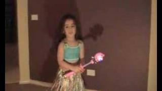 Cute 3 Year old Keisha dancing.