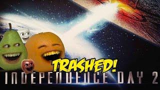 Annoying Orange - INDEPENDENCE DAY 2: RESURGENCE TRAILER Trashed!!