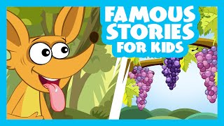 Famous Stories For Kids | The Sour Grape Story | The Gingerbread Man & More