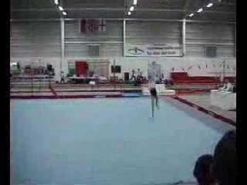 Me doing Gymnastics when I was 13