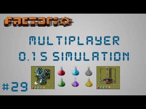 EP29 Fixing & Watching Trains Factorio 0.15 Simulation Multiplayer Megabase