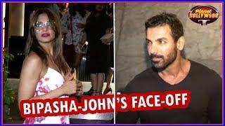 Bipasha Basu - John Abraham Give Each Other A Cold Shoulder | Bollywood News