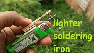 How to make soldering iron
