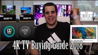 4K TV Buying Guide 2018