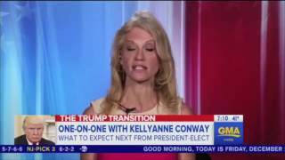 Conway Crashes and Burns Trying to Defend Trump's Lies About