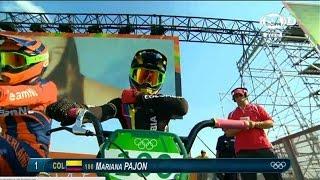Mariana Pajon oro Colombia Rio 2016 Campeona mundial