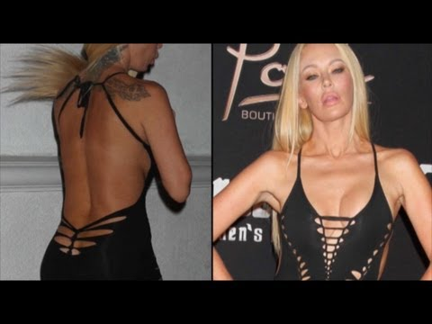 Adult Film Actress Jenna Jameson parties in Las Vegas