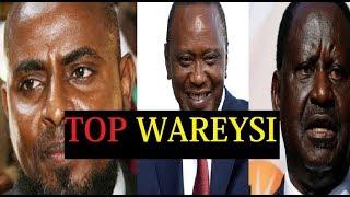 Mohammed Abduba Dida Oo Dulka Ku Jiday Raila Odinga  2017