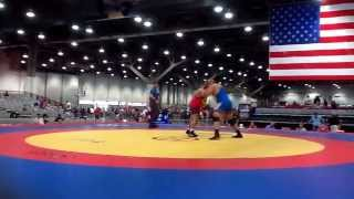 Mark Trice's. Finals Match 2014 Veterans National Championships 1st Period.
