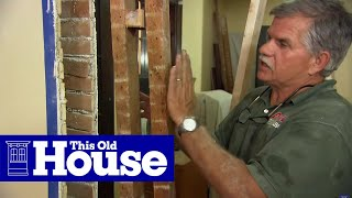 How to Remove a Load-Bearing Wall - This Old House