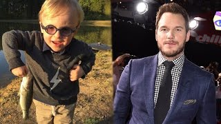 Watch Chris Pratt Teach His Adorable 3-Year-Old Son Jack How to Fish