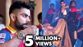 Virat Kohli Blushes On Anushka Sharma Performance | IPL 2015 Opening Ceremony