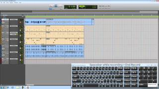 Pro Tools® SE - Recording an Audio Track - Win 7 & Mac OS X