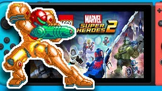 More 2D Metroid Games?, New Monolith Soft Game?, Lego Marvel Superheroes 2 Switch Pairity