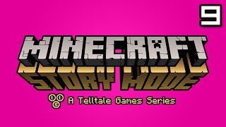 Minecraft Story Mode Let's Play: Episode 3 Part 2 - I AM BE ENDER MAN