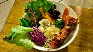 Desi Buddha Bowl | HowTo Make Indian Buddha Bowl | Vegan And Simple
