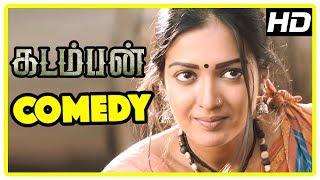 Kadamban Tamil Movie | Full Movie Comedy | Arya | Catherine Tresa | Yuvan Shankar Raja