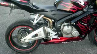 2005 Honda CBR 600RR, Black with factory red flames, VERY CLEAN, $4,995