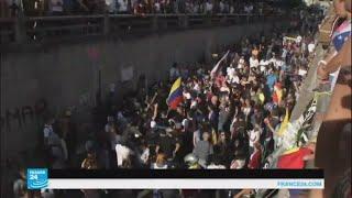 وقفة تكريمية لضحايا الاحتجاجات في فنزويلا