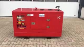 Yanmar Himoinsa HYW 20 KVA Supersilent Generatorset  As New !