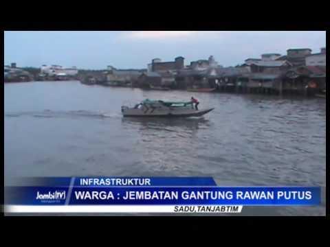 Warga Air Hitam Laut Minta Infrastruktur Jembatan Baru