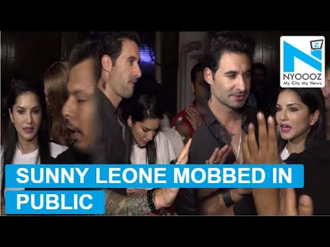 Xxx Mp4 Sunny Leone And Hubby Daniel Weber Mobbed By Paparazzi 3gp Sex