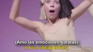 Sia - Cheap Thrills [Lyrics English - Español Subtitulado]