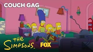 Big Bang Theory Couch Gag | Season 28 Ep. 19 | THE SIMPSONS
