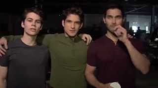 Teen Wolf Behind the Scene Season 3 - [Funny] Dylan-2x Tyler