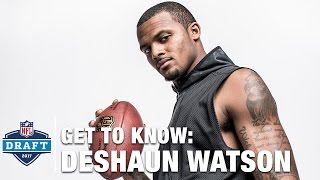 Get to Know: Deshaun Watson (Clemson, QB) | 2017 NFL Draft
