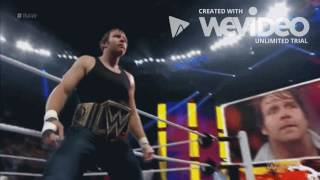 A Tribute To Dean Ambrose War Of Change (2016)
