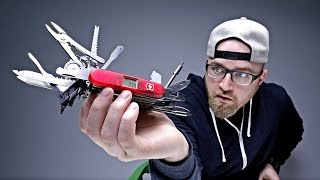THE CRAZIEST SWISS ARMY KNIFE