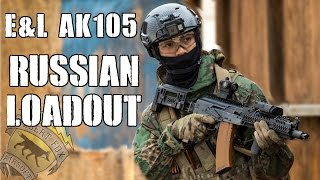 DesertFox Airsoft: From Russia with Love (E&L AK105 and Russian Force Loadout)