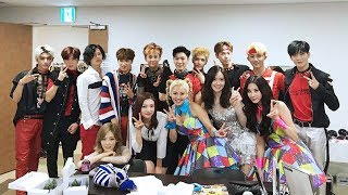 SNSD and NCT moment P1
