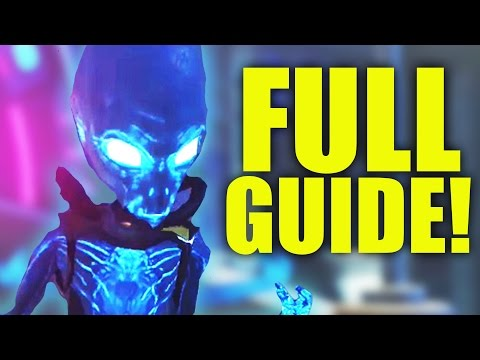 """ZOMBIES IN SPACELAND"" EASTER EGG GUIDE! – FULL EASTER EGG TUTORIAL! (Infinite Warfare Zombies)"