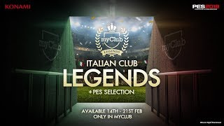 Italian Club Legends PES Mobile