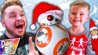 Surprise Visit from Santa BB-8!