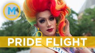 "Virgin Atlantic announces ""Pride flight"" with drag queen bingo and more | Your Morning"